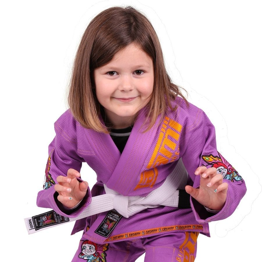 Детское кимоно Tatami Meerkatsu BJJ Gi - Purple